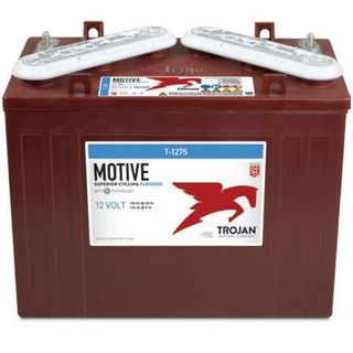 T-1275 - 12V 150AH TROJAN DEEP CYCLE FLOODED BATTERY