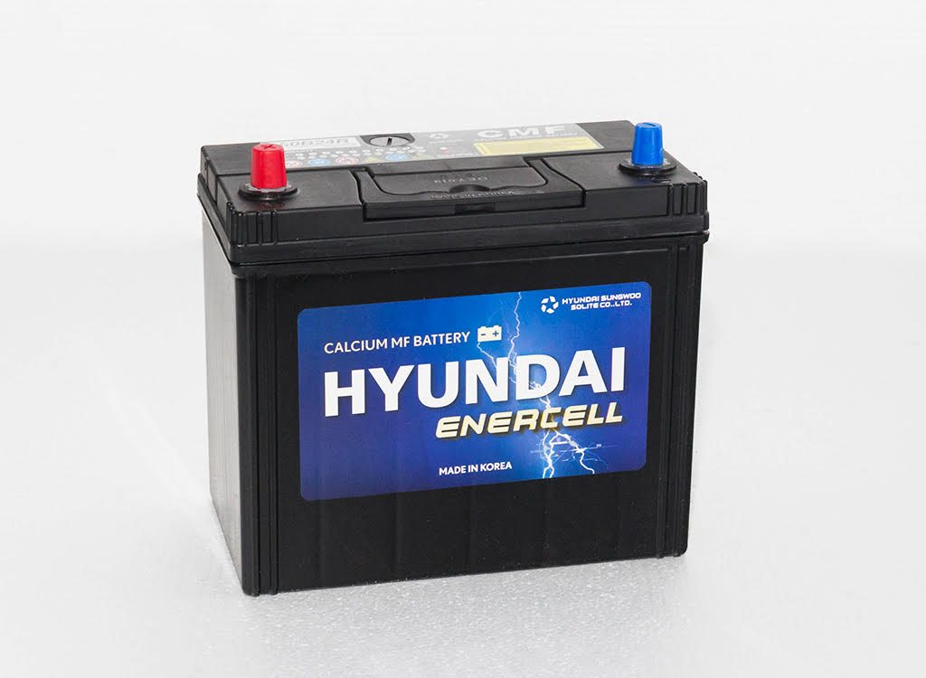 NS60R / 50B24R - 370CCA 12V MF CAR BATTERY HYUNDAI ENERCELL